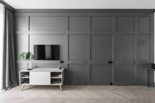 49㎡小户型公寓电视背景墙装修效果图