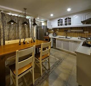 混搭风格三居室厨房装修设计图