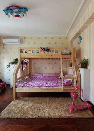 美式风格三居儿童房装修设计图