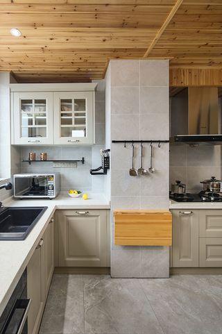 110平米北欧风格厨房装修效果图