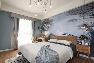 110平米北欧风格卧室装修效果图
