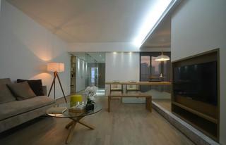 简约日式风格客厅装修效果图
