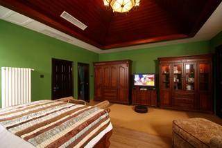 东南亚风格别墅卧室装修效果图