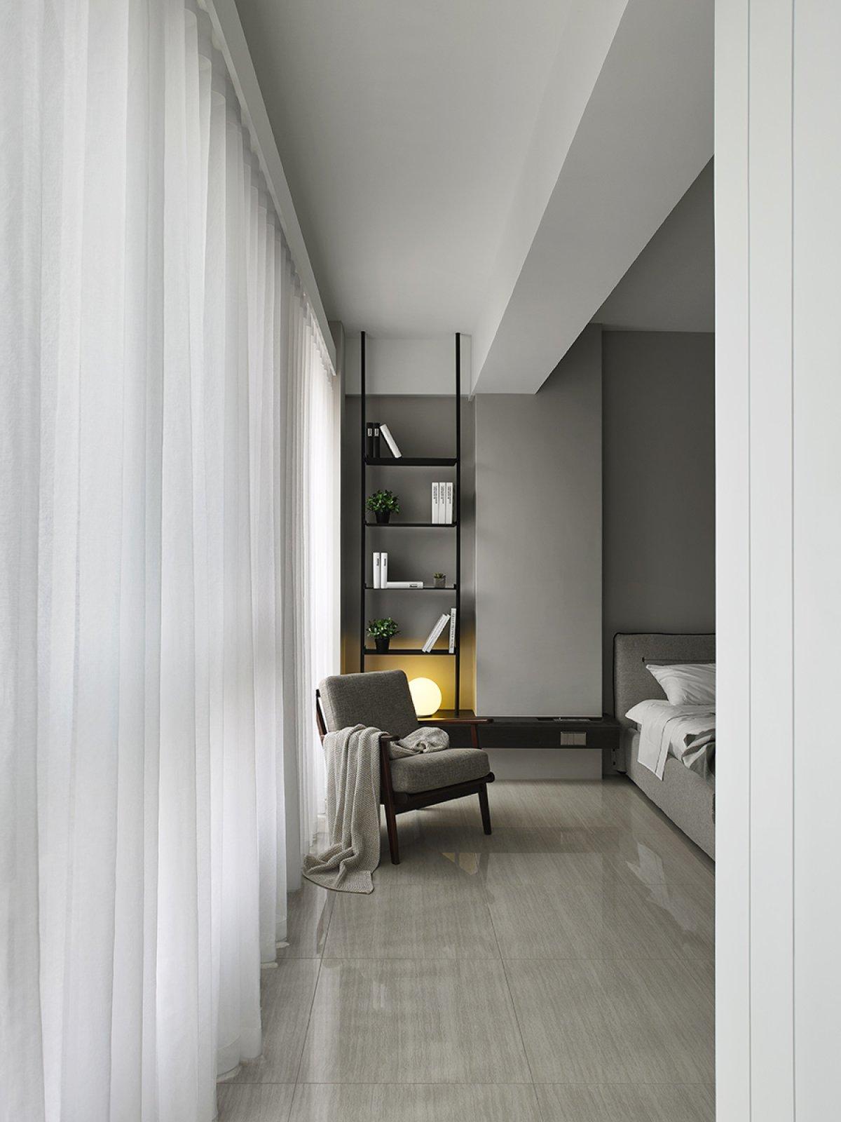 165平米现代风格装修窗帘设计图