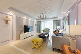 大户型法式风格客厅装修设计图