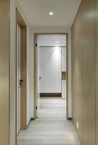 简约现代风格三居走廊装修效果图