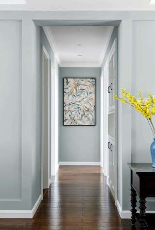 130㎡美式风格走廊装修效果图