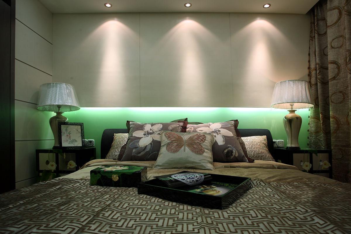 新中式古典风格卧室装修效果图