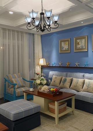 三居室地中海风格装修设计图