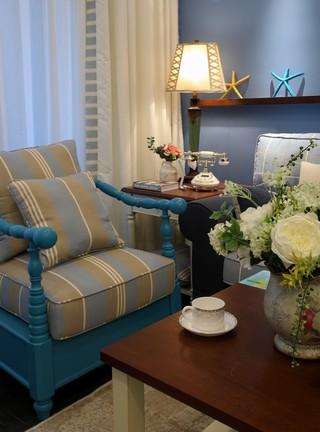 三居室地中海风格装修沙发设计图