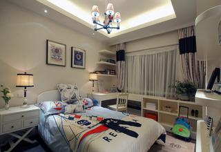 三居室地中海风格儿童房装修设计图
