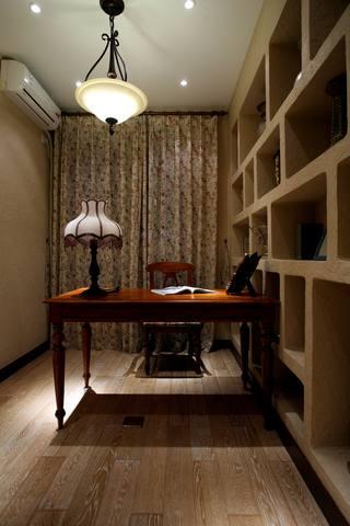 地中海混搭三居室书房装修效果图