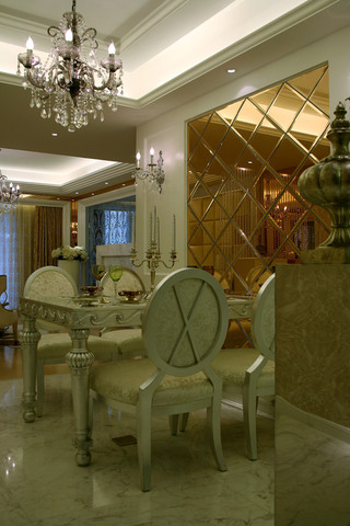 欧式风格三居室餐厅每日首存送20