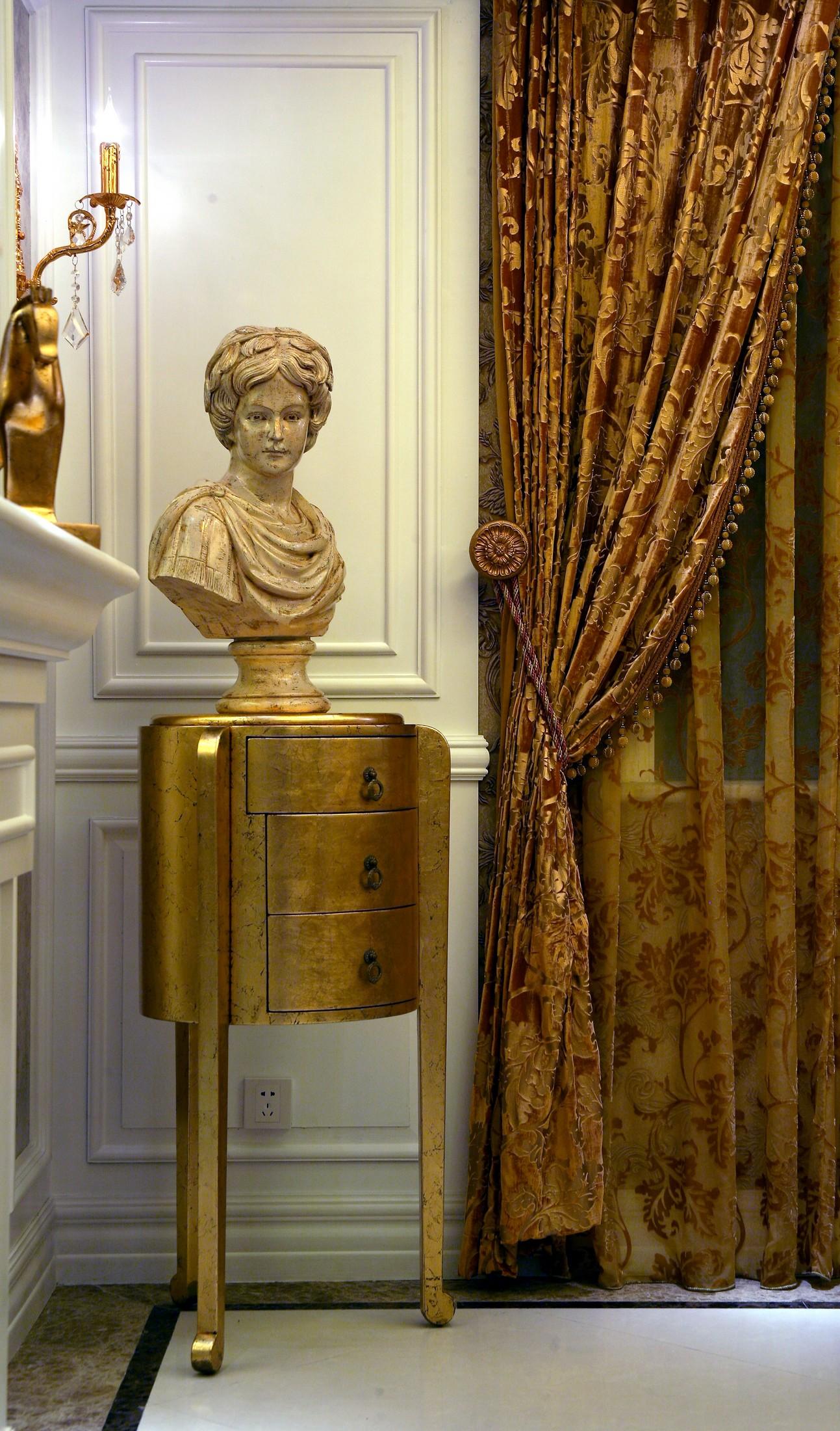 欧式风格别墅客厅一角装修效果图