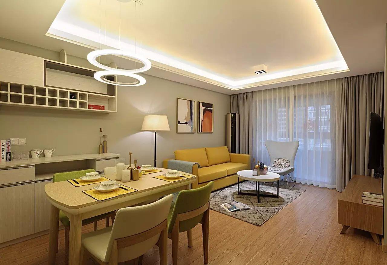 现代简约两居装修设计图