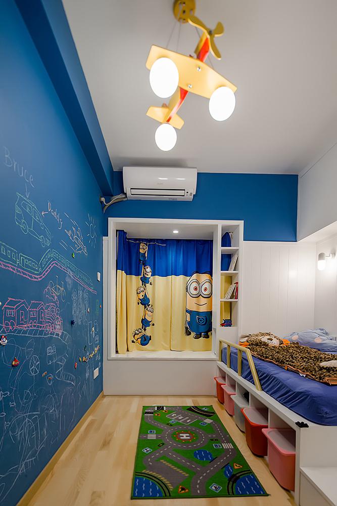 三居室日式风格儿童房装修效果图