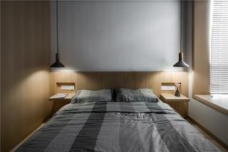 三居室日式风格卧室装修效果图