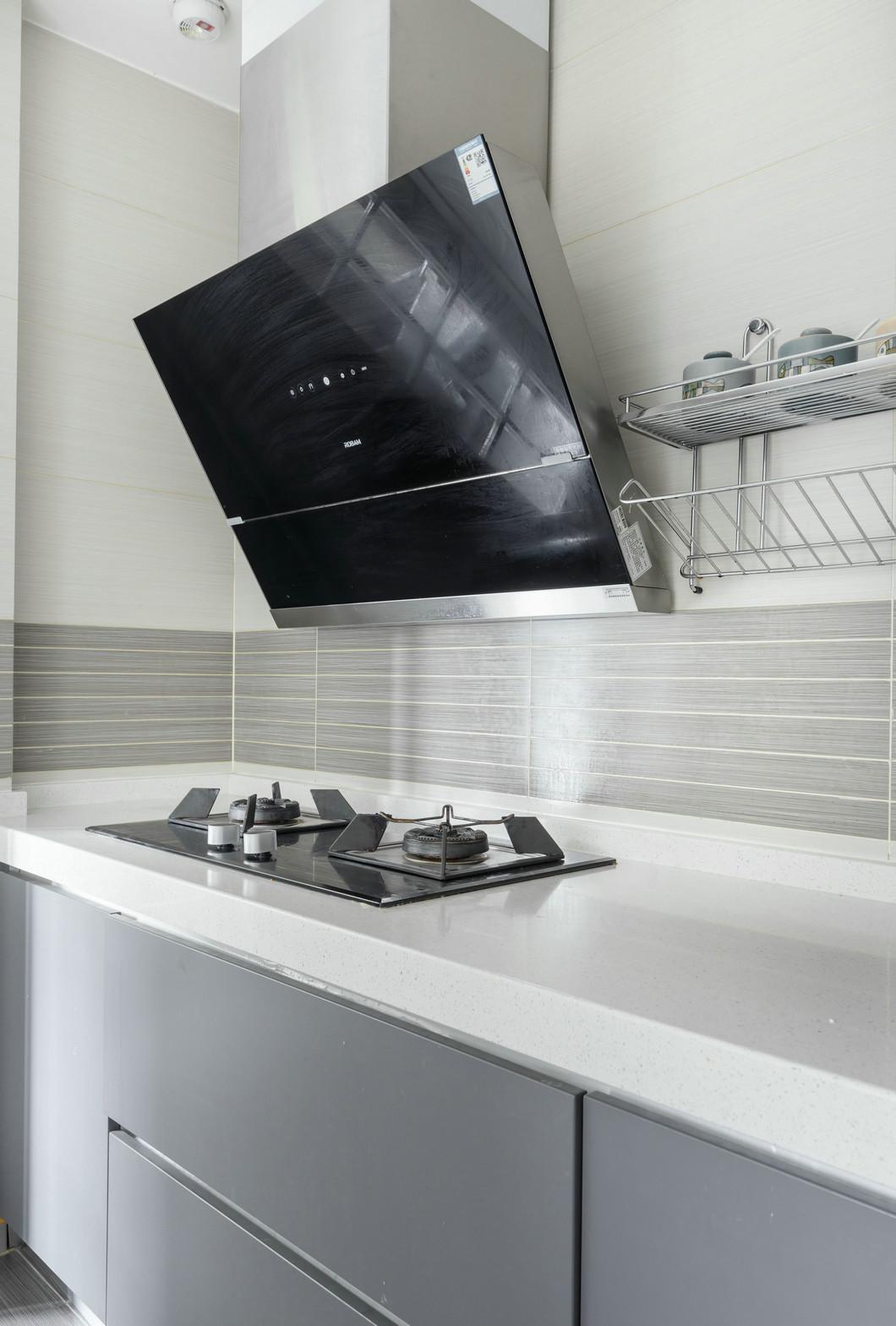 大户型现代混搭厨房装修设计效果图
