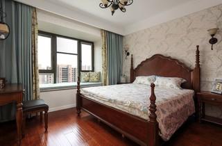 120平美式风格卧室装修设计图