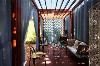 美式风格别墅阳光房装修效果图