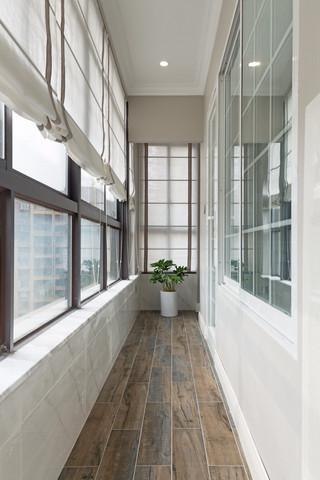 180平美式风格阳台装修效果图