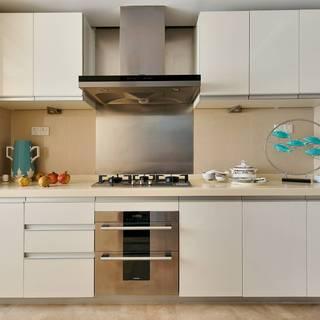 大户型美式混搭风格厨房装修效果图