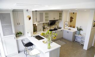 简约北欧风格厨房装修效果图