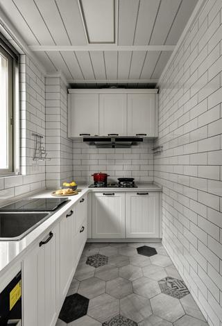 三居室北欧风格厨房装修效果图
