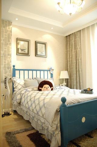 三居室田园风格儿童房装修效果图