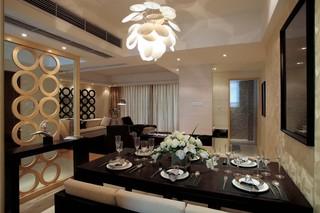 后现代风格四居室餐厅装修效果图