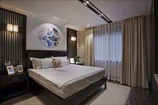 三居室中式风格卧室装修效果图