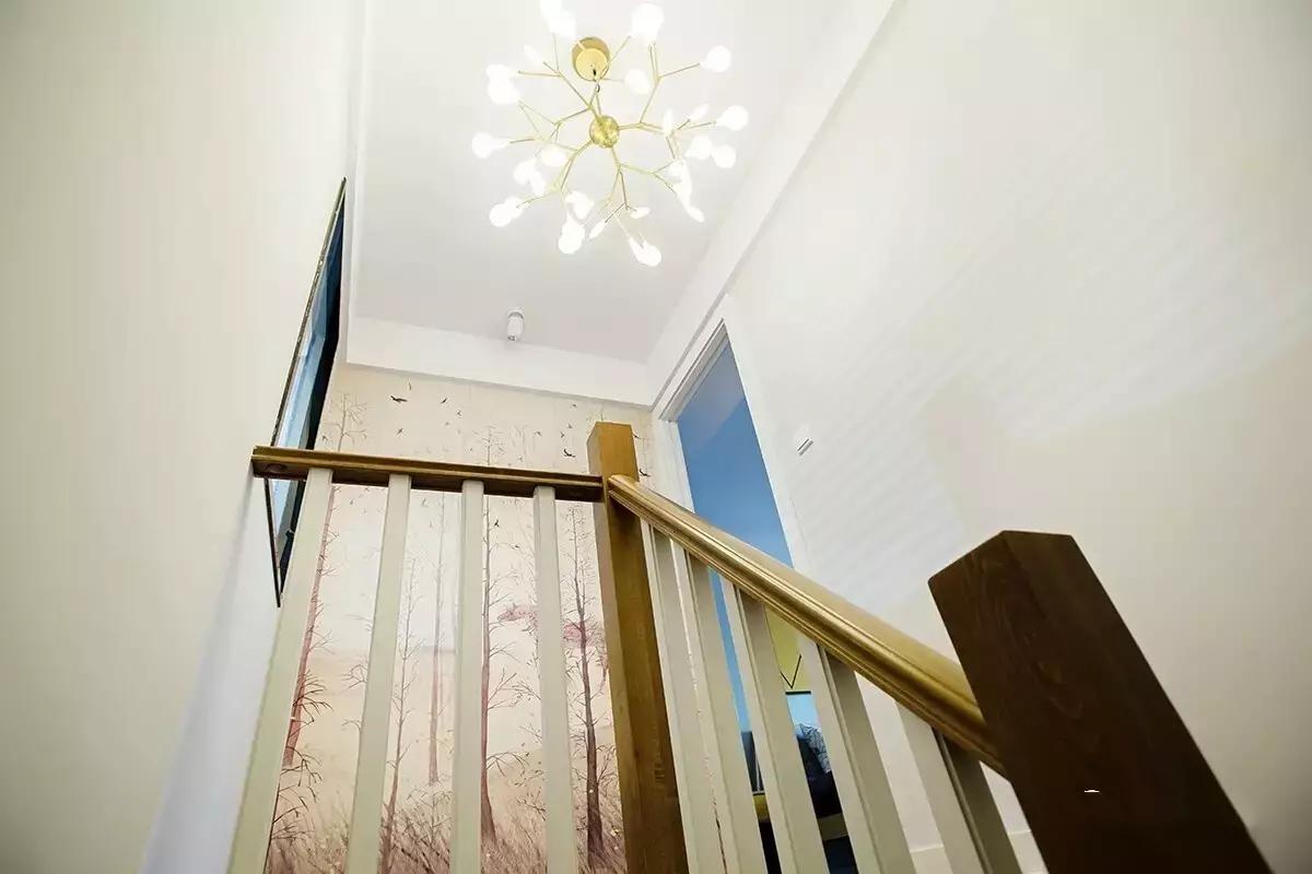 115㎡复式北欧风楼梯装修效果图