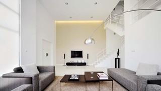 简约风格别墅客厅装修效果图