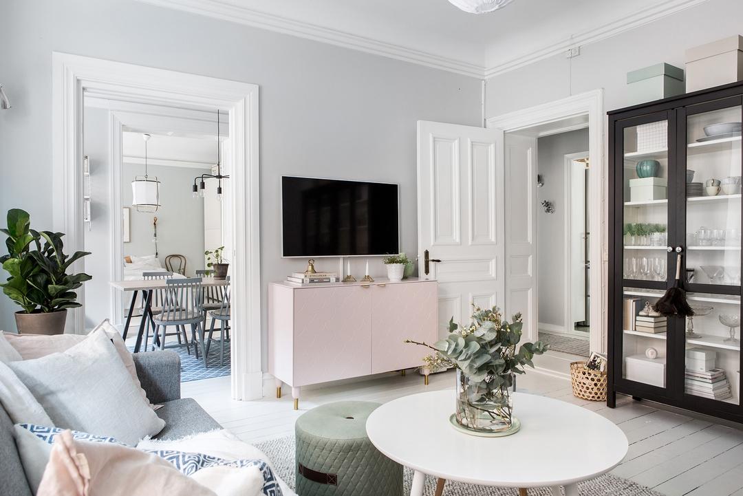 北欧风格公寓客厅装修设计图
