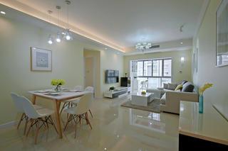 80平现代两居室装修效果图