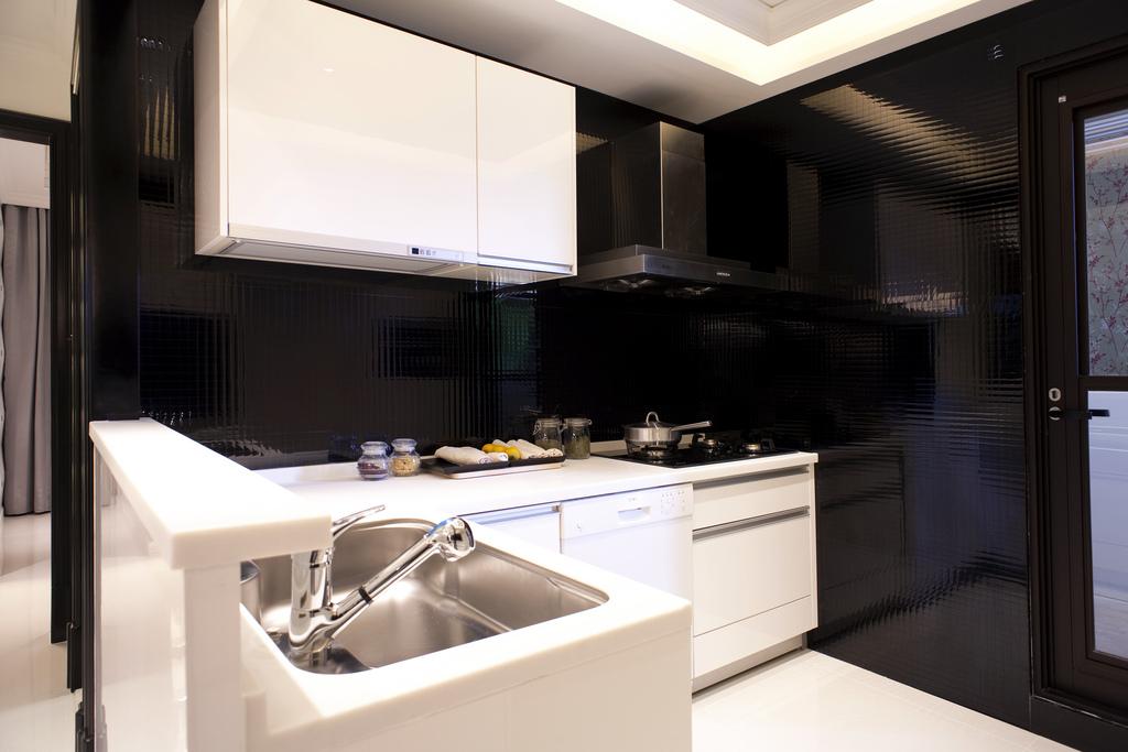 新古典风格样板间厨房装修效果图