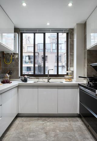 145平时尚现代风厨房装修效果图
