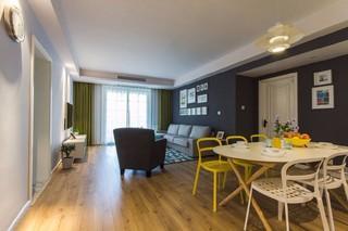简约现代两居室客餐厅装修效果图