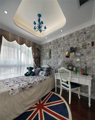 地中海风格两居儿童房每日首存送20