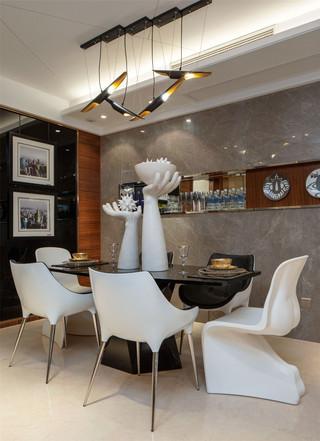 时尚现代两居室装修效果图