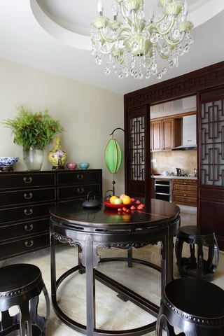 中式风格别墅餐厅国国内清清草原免费视频