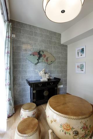 中式风格别墅阳台装修效果图