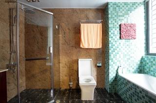 中式風格別墅衛生間裝修效果圖