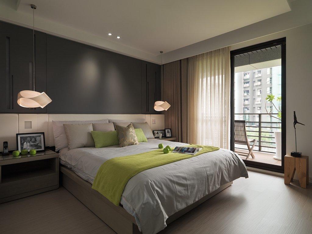 105㎡现代简约风格卧室装修效果图
