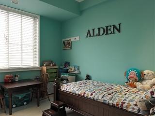轻美式混搭风格儿童房装修效果图