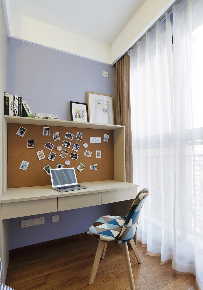 89平北欧风格书桌装修效果图