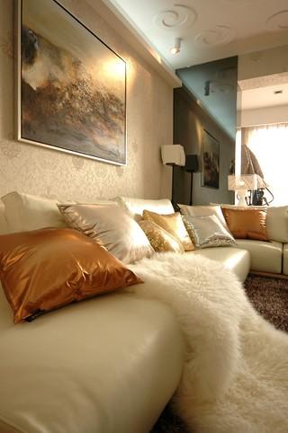 105平现代风格装修沙发设计图
