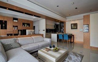 139平米现代风格装修沙发布置图