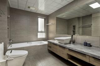180㎡现代简约风格卫生间装修效果图
