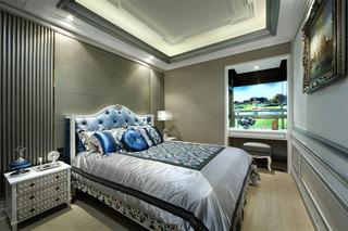 100㎡欧式风格卧室装修效果图